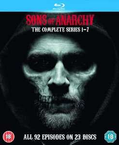 Sons Of Anarchy - Season 1-7 komplett - auf BluRay - Zavvi.de