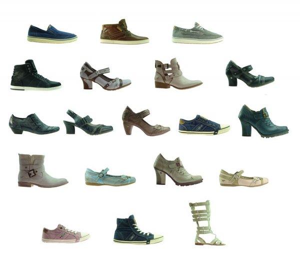 Mustang Schuhe für Herren,Damen und Kinder bei Outlet46.de in verschiedenen Größen
