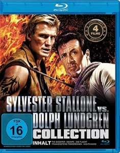 [amazon.de Prime] Sylvester Stallone vs. Dolph Lundgren Collection - Blu-ray, 4 Filme - 4,97 Euro