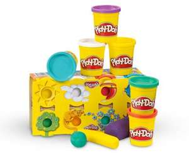 Play-Doh Kinder Soft Knete 8 Dosen je 140g ab 07.01. @ Aldi Süd