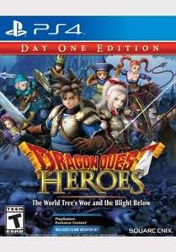 PS4 Dragon Quest Heroes Day one Edition (Englisch) für 28,50€ inkl. Versand