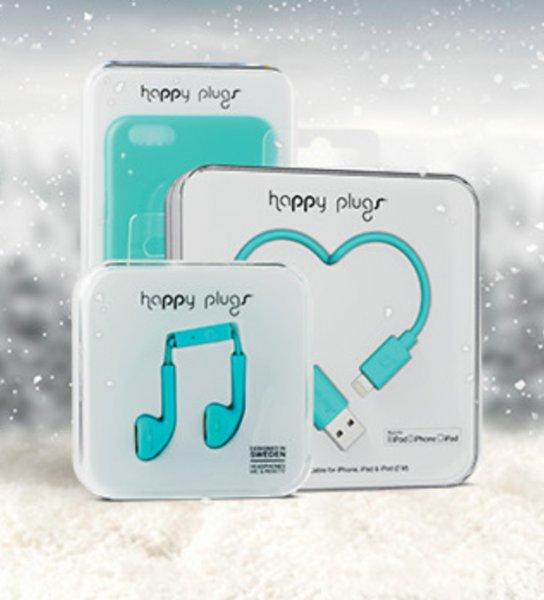 Happy plugs Headset, Ladekabel und Hülle für I-Phone 6 bei Vodafone Weihnachtsdeals