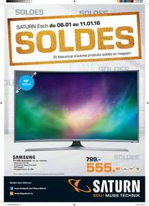 [Lokal][Saturn Luxembourg] Samsung UE48J6300 Curved TV 555€