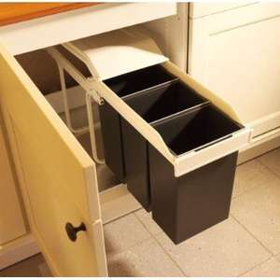 Hailo 3659 Multi-Box 3x10 Mülltrennungs-System – Blitzangebot des Tages @Amazon.de