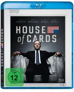 [amazon.de] House of Cards - Season 1 [4 Blu-rays] (2015) für 19,98€ mit Prime