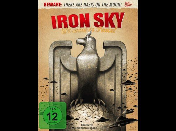 Iron Sky - Wir kommen in Frieden! - (Blu-ray) (Steelbook!) für 3,99 € @ Saturn.de (Update: 4,49 €) (Update 2: Wieder 3,99 €)