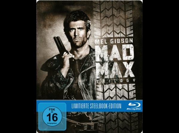 Mad Max Trilogie (Exklusive Steelbook Edition) - (Blu-ray) für 19,99 € @ Saturn