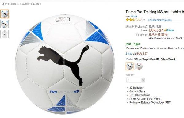 Der nächste Puma Ball [amazon Prime]