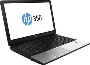 "HP 350 G2 - Pentium 3805U (Broadwell), 4GB RAM, 500GB HDD, 15,6"" matt, Wartungsklappe - 224,06€ @ Notebooksbilliger.de"