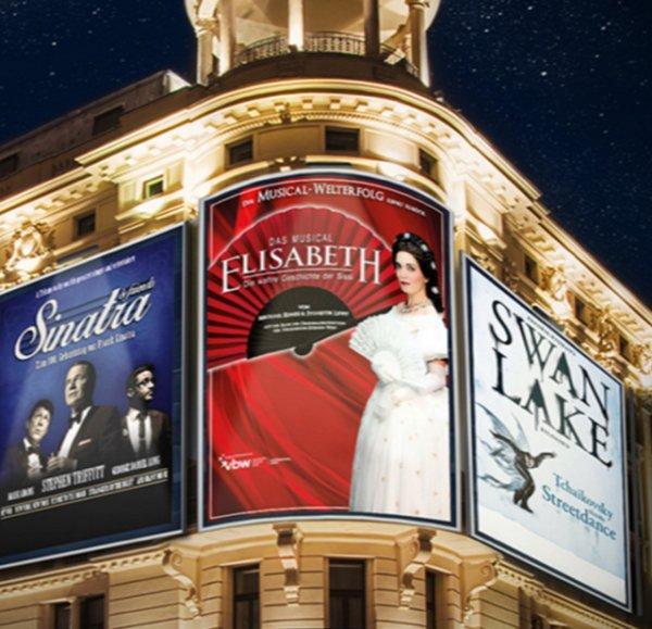 Shows: Das Musical Elisabeth, Sinatra & Friends und Swan Lake Reloaded @ vente-privee.com
