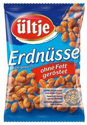 12er Pack (2,4 kg!!!) Ültje Erdnüsse pikant gewürzt ohne Fett für 6,28€ statt 21€ - Preisfehler!?