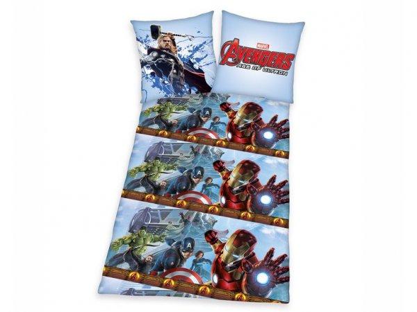 [3% Qipu] Herding Renforcé-Bettwäsche Avengers mit Reißverschluss für 15,99€ zzgl. 4,95€ Versand @Lidl Online