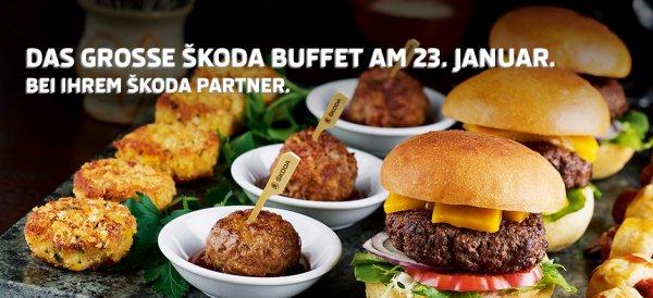 Konstenloses Buffet bei Skoda - 23.01.2016