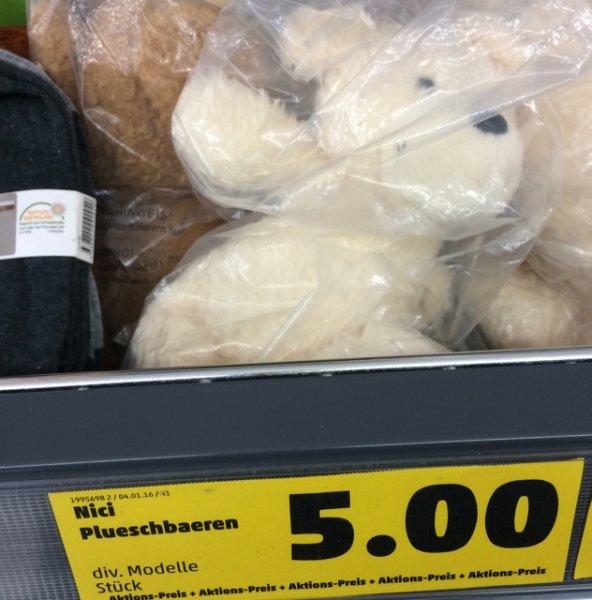 Nici Bär liegend 30 cm PENNY