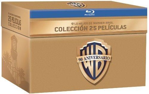 90 Jahre Warner Bros. Jubiläums-Edition - 25 Film Collection (27 Discs) [Blu-ray] inkl. Vsk für 81,63 € > [amazon.es]