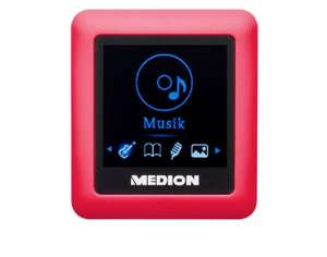 [Medion] MP3-Player MEDION® LIFE® E60081 (MD 84692) pink/rot 8 GB Speicher