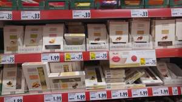 """[lokal Kaufland HRO?] 85g Schokolade """"Exquisit"""" für 75 Cent - u.a. Weiße mit gesalzener Mandel (49% reduziert)"""