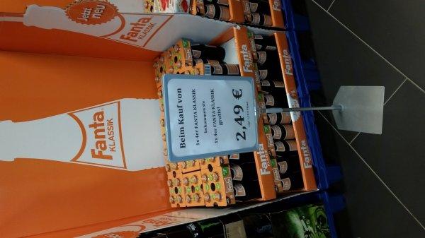 Rewe Koblenz Löhrcenter Fanta Klassik 2,49€/8 Flaschen // Vulkanius Quelle 1€/Kasten