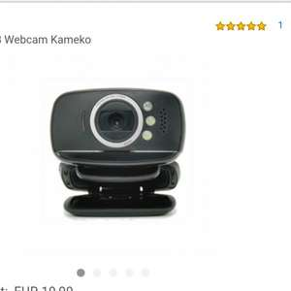 [Amazon] Kinobo USB Webcam (AUSVERKAUFT)