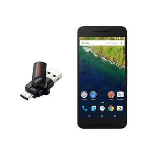 Huawei Nexus 6P 32GB + 32 GB SanDisk Dual USB 3.0 Stick für 510,10€ bei Amazon.it