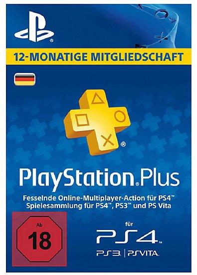 PlayStation Plus 1 Jahr für 40,94 Euro (bei mytoys.de für Neukunden)