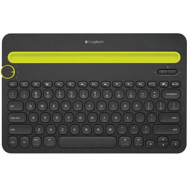 Logitech K480 Multi Device Bluetooth-Tastatur für 27,45€ bei Conrad.de