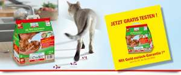 Katzenstreu Testwochen Cat's Best Öko Plus 10 l gratis testen