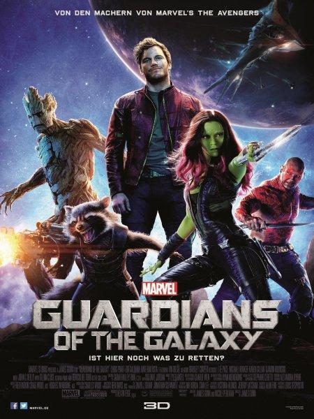 [Amazon.de] Guardians of the Galaxy [BluRay] für 8,90 mit Prime