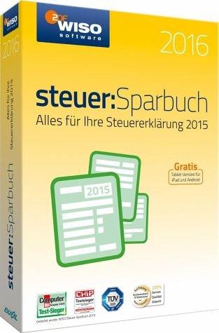 WISO Steuer-Sparbuch 2016 für 22,22€