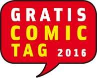 Gratis Comic Tag 2016 - 34 Hefte gratis am 14. Mai 2016