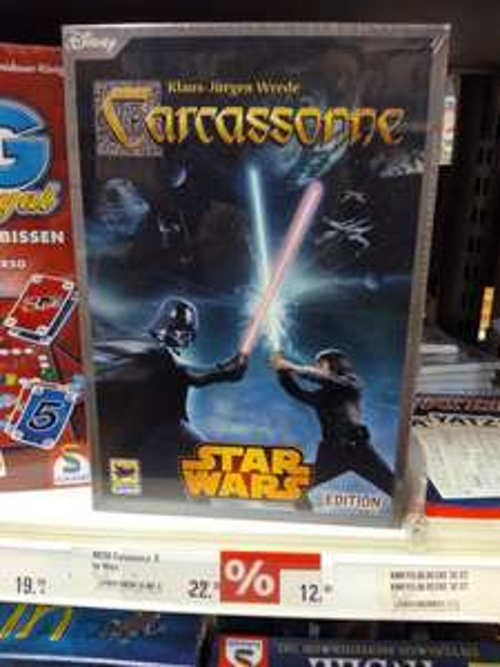 Lokal Karstadt Dessau Carcassonne Star Wars 12.99€