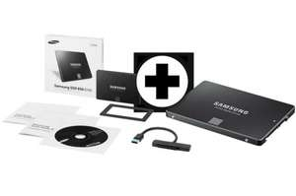 Samsung 250 GB 2.5 Zoll Starterkit interne SSD für 79€ @Ebay Wow