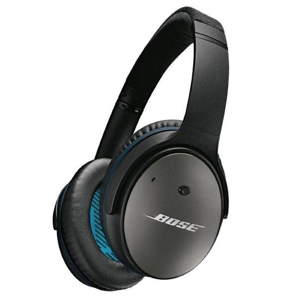 BOSE Quietcomfort 25 Over Ear Acoustic Noise Cancelling Kopfhörer Schwarz (IOS)