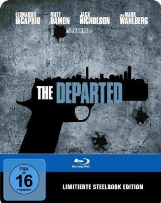 (amazon.de) The Departed (Blu-ray Steelbook) für 18,16€ + 3€ VSK
