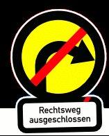 Rechtsweg-Ausgeschlossen - Flyer & Aufkleber