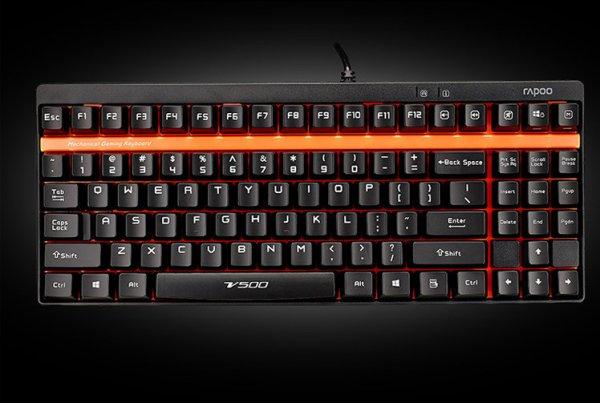 [Lokal MM Koblenz] Rapoo V500 Mechanische Gaming Tastatur TKL Mediamarkt