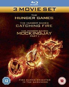 The Hunger Games - Tribute von Panem - Teil 1-3 auf Blu Ray (OT) - zavvi.de