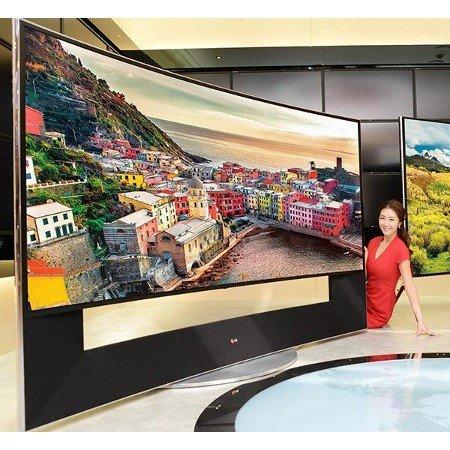 LG 105UC9V 266 cm (105 Zoll) 5K UltraHD 3D Curved LED-Backlight-Fernseher(Messeware) für 29999€ statt 59999€@EBAY