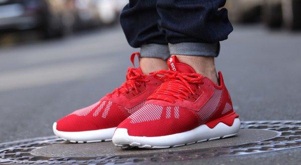 [Zalando] Adidas Tubular - scarlet/white - 36 bis 39 1/3