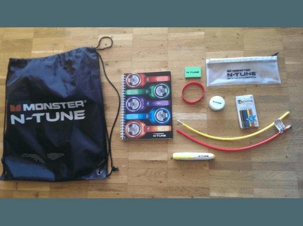 [SaturnOnline] MONSTER N-TUNE Back to School Online Turnbeutel