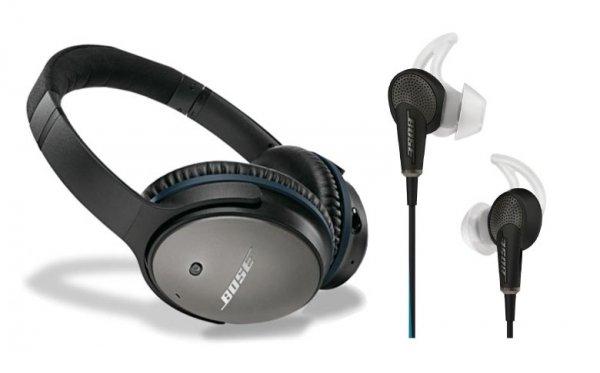 Bose QuietComfort® 20 und 25 Acoustic Noise Cancelling®-Kopfhörer für jeweils 219,- Euro mit Gutscheincode @mediadeal.de