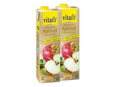 [am 16.1.] Vitafit Apfelsaft Naturtrüb 1 Liter für 65 Cent (-26%) @ Lidl