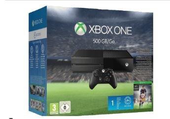Xbox One Konsole 500GB inkl. FIFA 16 für 299/250€