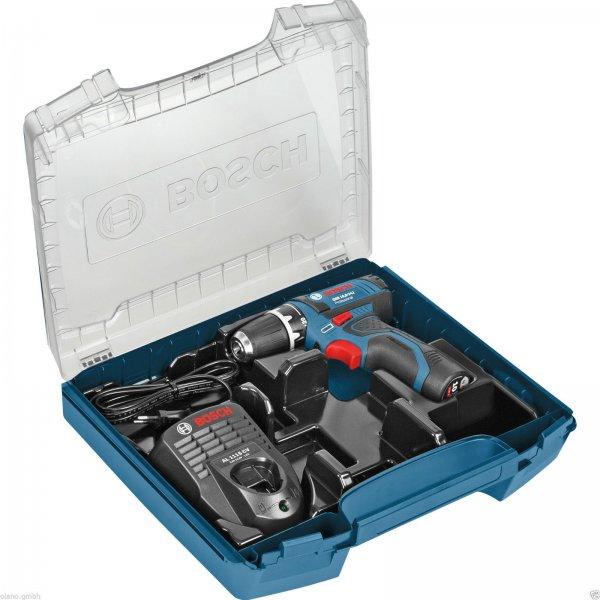 Bosch Akku-Bohrschrauber GSR 10,8-2-LI 10,8 V; 2Ah Akku;  i-BOXX Rack; 79,99 € VSK-frei @ ebay.de