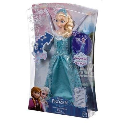 Mattel - Frozen - Die Eiskönigin - Singende Elsa