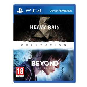 Heavy Rain & Beyond Two Souls - Remastered (PS4) für 36,26€ bei 365Games