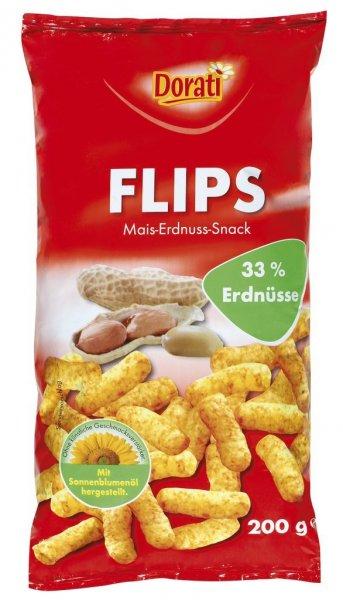 Abgelaufen - 25 x Dorati Erdnußflips / je 200 g - eher nur Amazon Prime sinnvoll