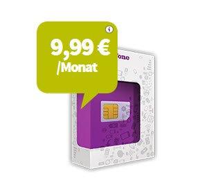 Telefon + SMS + Internet + LTE Flat nur 9,99 €