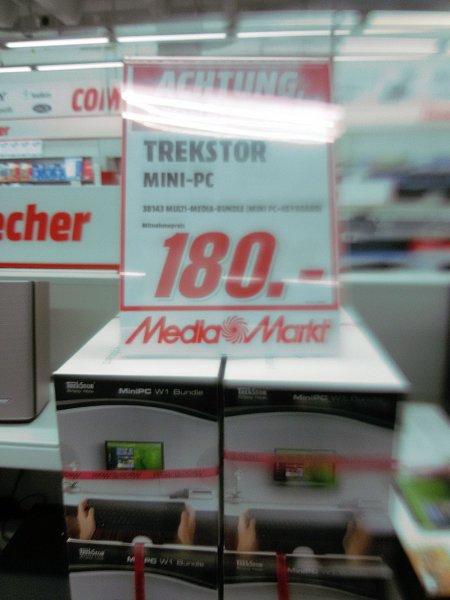 Trekstor Mini PC - Bundle - Mediamarkt Biesdorf - andere möglich !