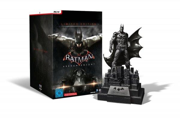 [Saturn] Batman Arkham Knight Limited Edition für PC - NUR 33,33€ bei 3Stk. - 44,99€ einzeln anstatt 129€